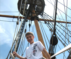Middle School students learn in Jamestown colony